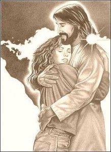 jesusandwoman