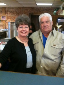 Howard and Judy Franks - Owners and Operators of THE FEED LOT, the best place to eat in Rayville, Louisiana
